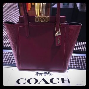 💎👜Coach👜💎 Troupe Tote Red